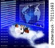 Investments of the financial capital are carried out instantly on electronic the network Internet - stock