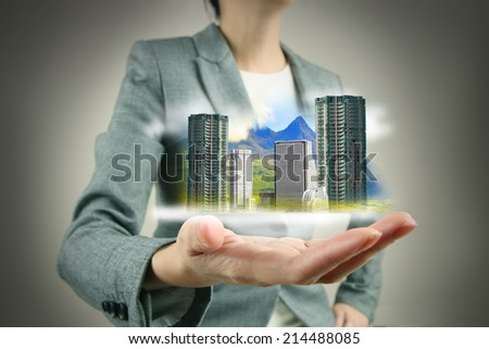Investor, Immovable Property - stock photo