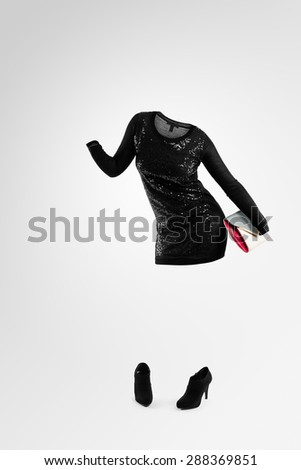 Invisible people series  - stock photo