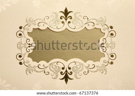 Invitation Card - stock photo