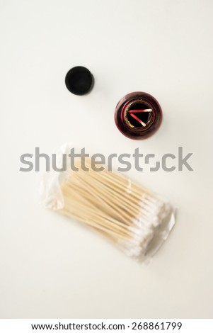 iodine complex - stock photo