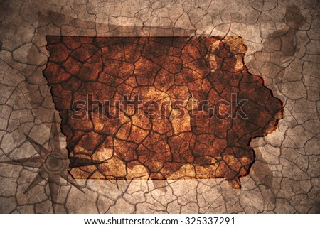 Iowa Map Stock Images RoyaltyFree Images Vectors Shutterstock - Iowa state in usa map