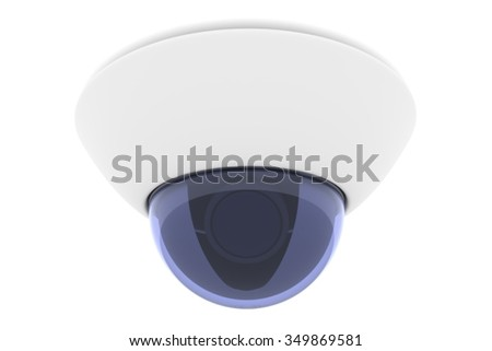 IP guard  camera 3D render