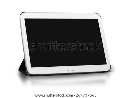 Ipad, tablet, gadget. - stock photo