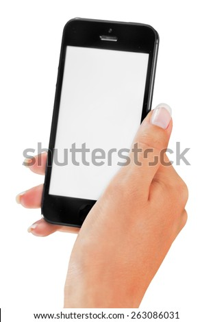 Iphone, Mobile Phone, Smart Phone. - stock photo