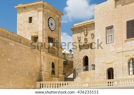 Ir-Rabat, Victoria, Ghawdex - Capital of the island Gozo, Maltese islands in Mediterranean sea