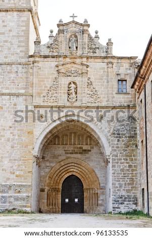 Irache Monastery, Road to Santiago de Compostela, Navarre, Spain - stock photo