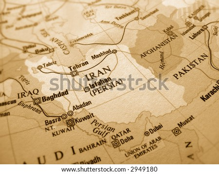 Iran - stock photo