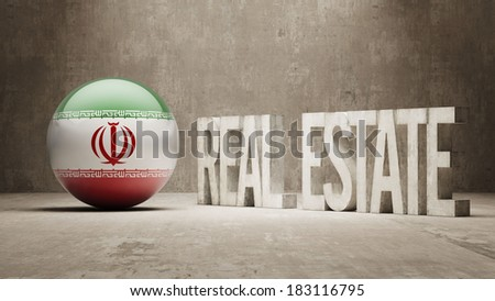 Iran High Resolution Real Estate Concept - stock photo