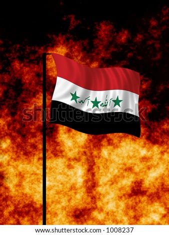 Iraq War - stock photo