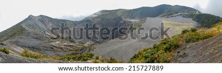 Irazu volcano - stock photo