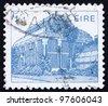 IRELAND - CIRCA 1983: A stamp printed in the Ireland shows Central Pavilion, Dublin Botanical Gardens, circa 1983 - stock photo