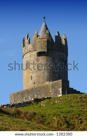 Irish Castle, Co. Ireland - stock photo