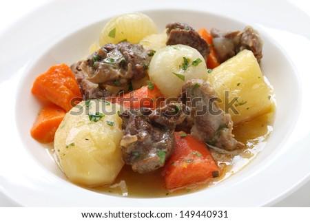 irish stew - stock photo