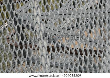 Iron Cage - stock photo