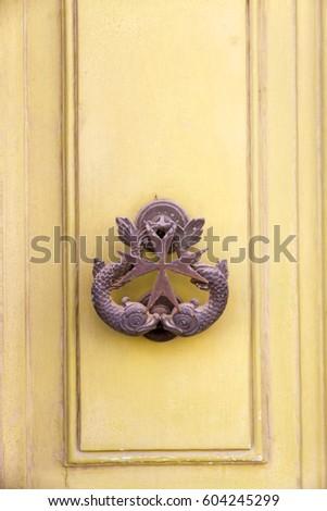 Iron Door Knocker Malta