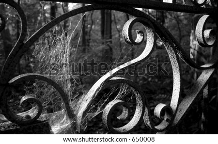 Iron Gate - stock photo