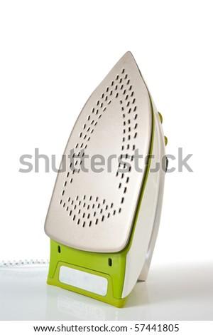 iron on a carro board - stock photo