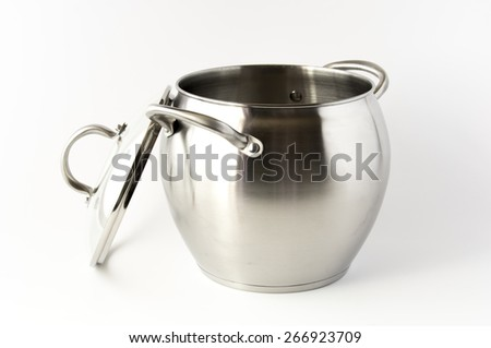 Iron pan with glass cover
