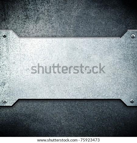 iron plate - stock photo