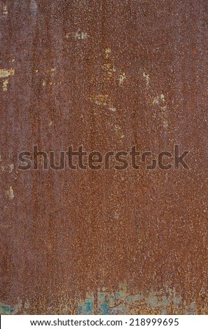 Iron rust texture background - stock photo