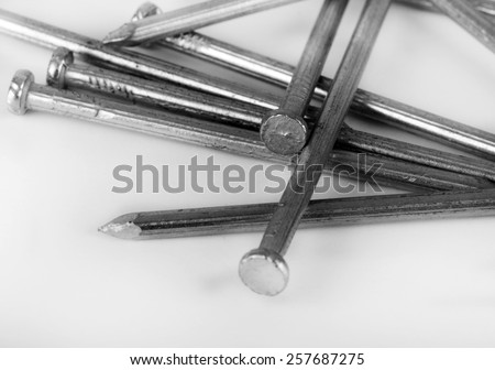iron screws and nails