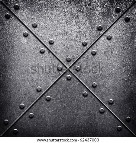 iron tank - stock photo