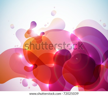 Irregular Patterns Design - stock photo