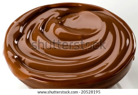 Irresistible chocolate dessert - stock photo
