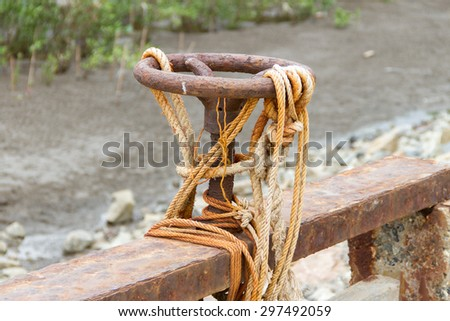 Irrigation Canal and Floodgate valve - stock photo