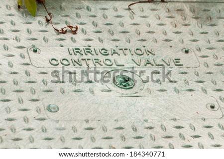 Irrigation Control Valve - stock photo