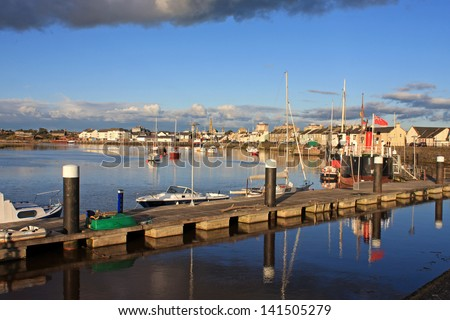 Irvine, Scotland - stock photo