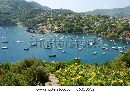 Ischia island, Italy - stock photo