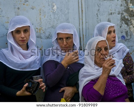 druze isfiya israel oct 22 druze woman stock photo 91809983 shutterstock
