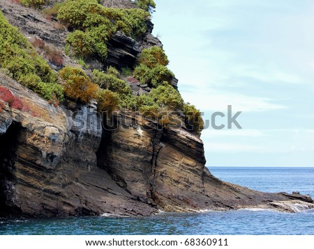 Isla Enderby (Galapagos Islands) - stock photo