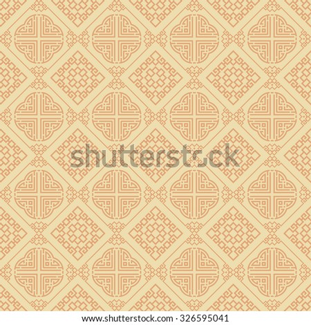 Islamic background seamless pattern template for decorating books postcards wallpaper wall web design web page background surface textures in asian style Islamic wallpaper geometric tiles - stock photo