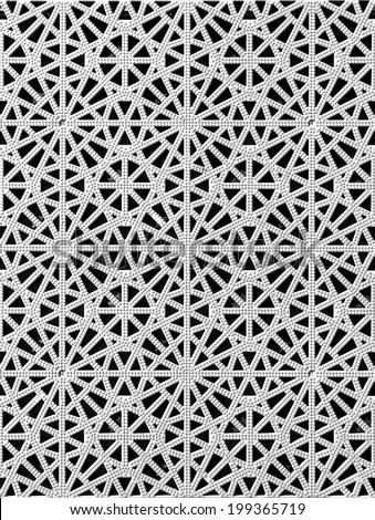 islamic design - stock photo