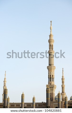 Islamic Holy Place in high resolution of 36 mega-pixels - stock photo