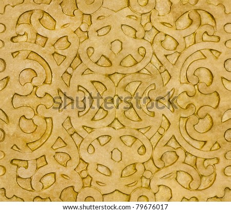 Islamic Pattern that can be tiled as a Background (Windows WallPaper Tile) - stock photo