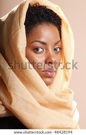 Islamic portrait - stock photo