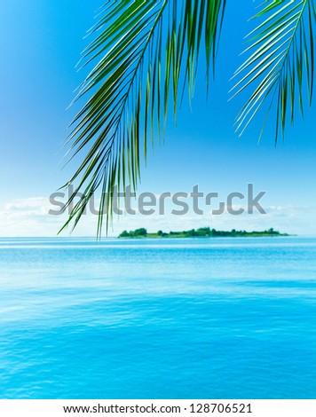 Island Concept Heaven - stock photo