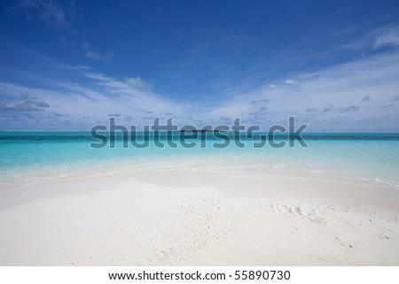 Island of dreams - stock photo