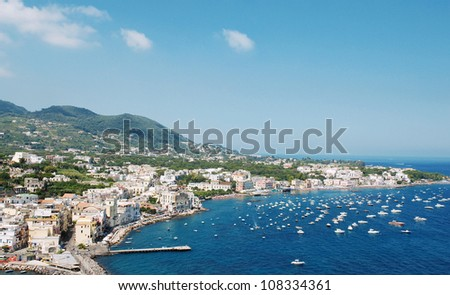 island of Ischia, Italy - stock photo