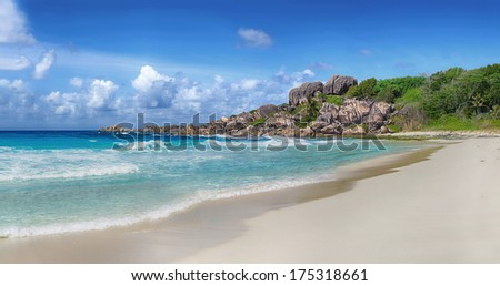 Island of la digue Seychelles