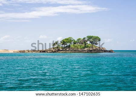 island of Nosy Komba (Nosy Be), Madagascar - stock photo