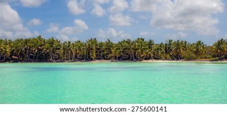 Island of Samoa, Santo Domingo - stock photo
