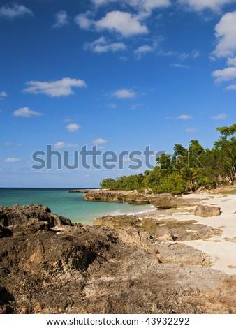 island paradise from cuba - stock photo