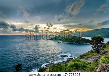 Island Phuket in southern Thailand - stock photo
