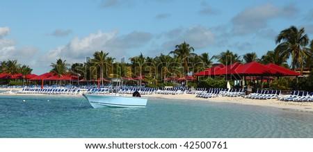 Island Resort - stock photo
