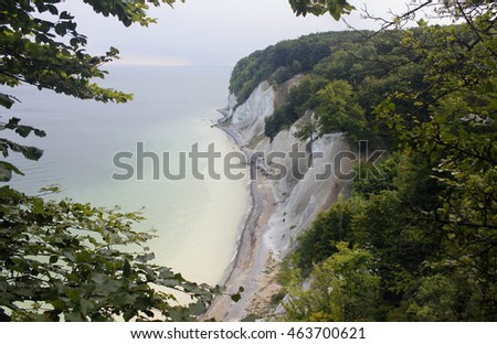 island ruegen baltic sea Germany coast